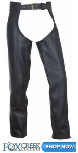Fox Creek Leather Chaps