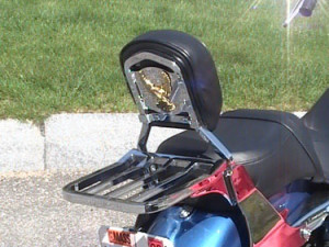 harley five bar luggage rack